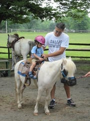 """""""Pony Pals"""" is tailored to two groups: children 2-4 years of age and 5-7 years. A parent or legal guardian must accompany their child/children for the program."""