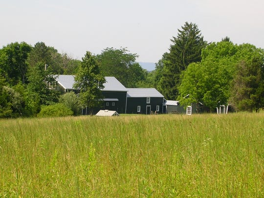 The barn complex on Fairview Farm, which is where the celebration will be held this September.