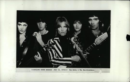Tom Petty & the Heartbreakers in 1978