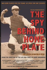 "Poster for ""The Spy Behind Home Plate,"" which filmmaker Aviva Kempner is currently promoting in cities across the U.S."