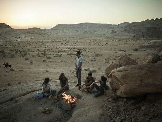 "This undated photo provided by Netflix shows a scene from the series ""Jinn."" By global Netflix standards, its first original Arabic series ""Jinn"" hardly pushes the envelope. But when the show debuted worldwide last week, many Jordanians were shocked and appalled by a program that they say violates the country's conservative norms."