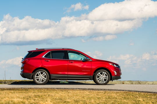 The Chevrolet Equinox was the top-ranked compact SUV. The Chevrolet brand rank sixth overall.