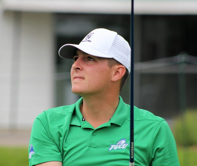 Logan Price, 21, of Grand Blanc finished 6-under 64 on Oakland Hills North Course.