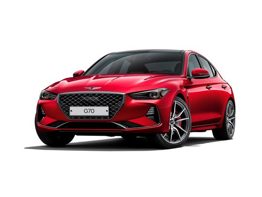 The Genesis G70 was the top-ranked compact premium car. The Genesis brand was No. 1 overall.