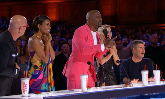 "Terry Crews to the Detroit Youth Choir on ""America's Got Talent."""