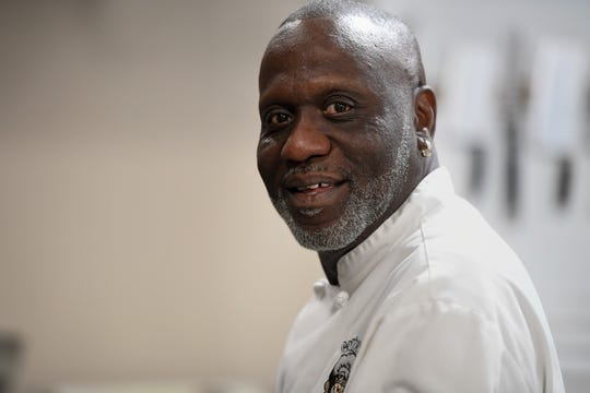 Gatrick's owner Gary Boyd, who has a mentoring program for young men who have been in trouble with the law, helping them develop skills and a recommendation so they can get a good restaurant job as an assistant chef Tuesday, June 4, 2019.