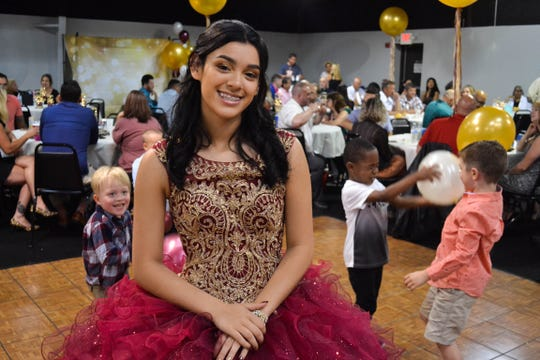 About 150 friends and family members gathered for Aleah Whaley's quinceanera on June 15, a traditional Hispanic celebration of a girl's entrance into adulthood at age 15. Although the tradition has roots in the Catholic church, many non-Catholic Christians girls like Whaley still hold quinceaneras on their 15th birthdays to celebrate their faith and their entrance into adulthood.