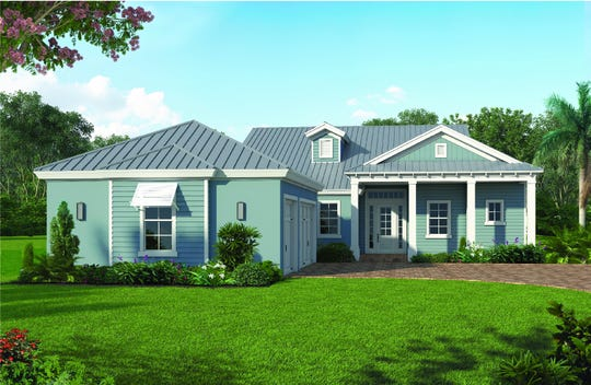 The Cypress is one of two models Divco Custom Homes will have under construction in Babcock Ranch.