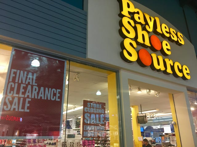0f5c7334267 Payless ShoeSource closing on Guam, holding clearing out sales