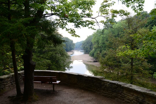The beautiful scenery makes Turkey Run State Park one of Indiana's most popular outdoor attractions.