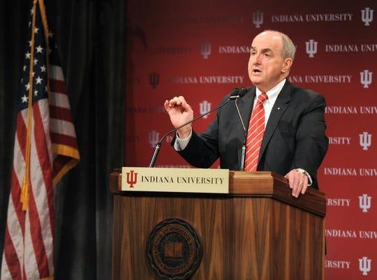 Michael McRobbie has been IU's president since 2007.