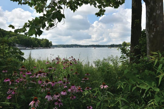 Pokagon State Park  in northern Indiana is a paradise for fishing, boating and swimming.