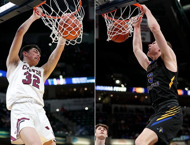 Top in-state prospects Trey Galloway (left) and Caleb Furst (right) will be among those on display at the Forum Tipoff Classic.