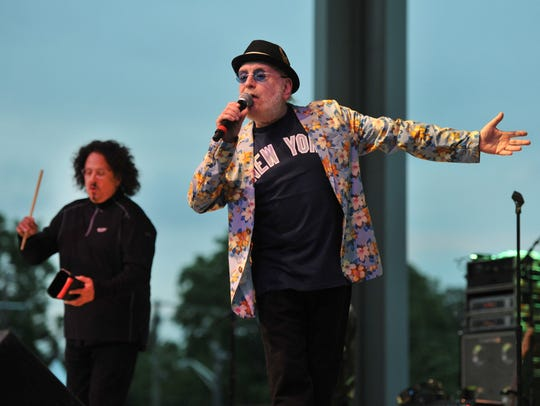 Mark Volman, left, and Howard Kaylan of the Turtles will perform Aug. 12 at the Indiana State Fair.