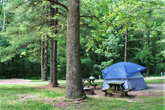 Starve Hollow State Recreation Area features fishing, swimming and boating, and 139 campsites.