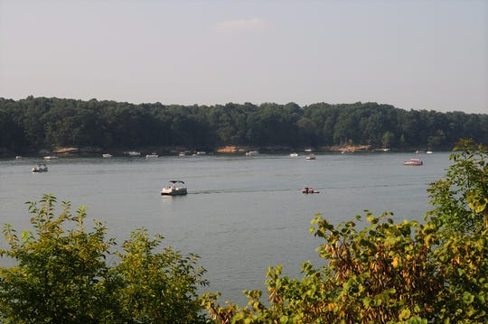 Raccoon State Recreation Area offers boating, fishing, swimming and a campground.
