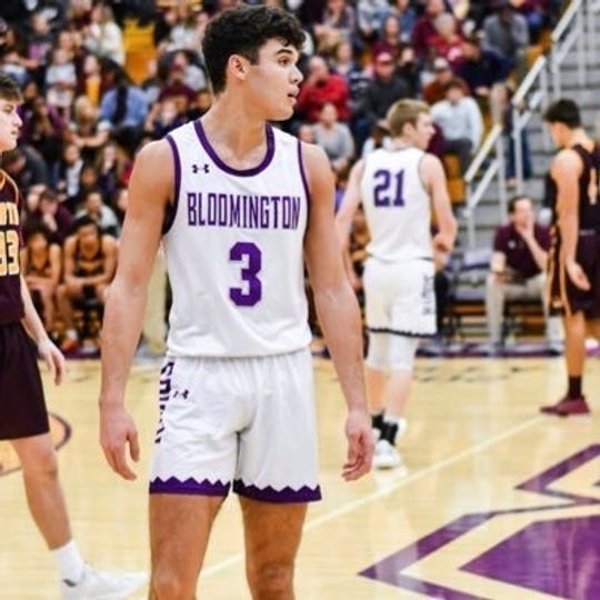 Anthony Leal of Bloomington South