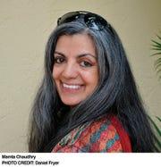 Novelist Mamta Chaudhry