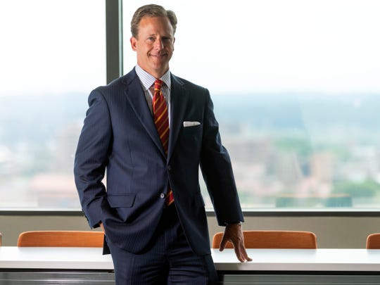 Tommy Siler of UBS Financial Services. Suit by M.S. McClellan.
