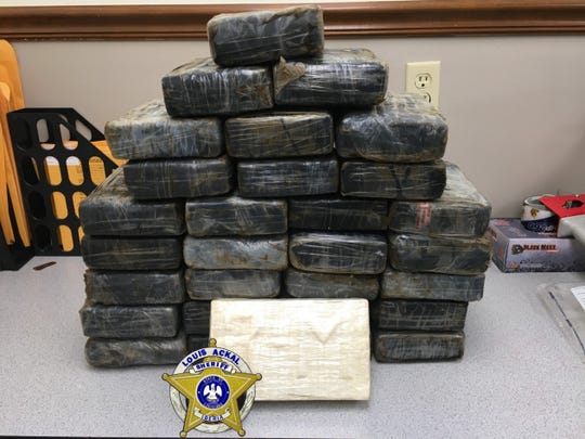 Cocaine found in the Gulf of Mexico that is worth more than $1 million.