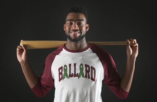 Ballard High School grad Jo Adell was named Mr. Baseball in 2017 after batting .562 with 25 home runs and 61 RBIs. He was a first-round draft pick of the Los Angeles Angels and currently is playing with the Double-A Mobile BayBears.