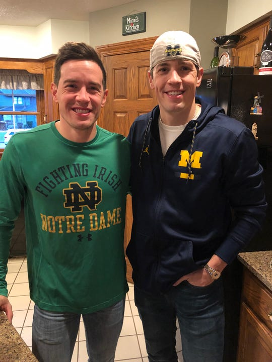 The Wechter twins, Austin, the Notre Dame grad, and Andrew, the Michigan grad, were co-winners of the 2004 News Journal Male Scholar-Athlete Award a few weeks after leading Shelby to its second straight state track championship.