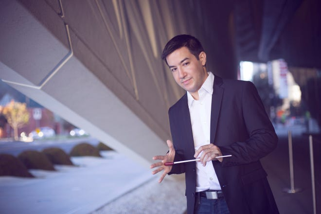 """Guest conductor Francesco Lecce-Chong leads the Milwaukee Symphony Orchestra and Chorus in """"Carmina Burana"""" June 21-23."""