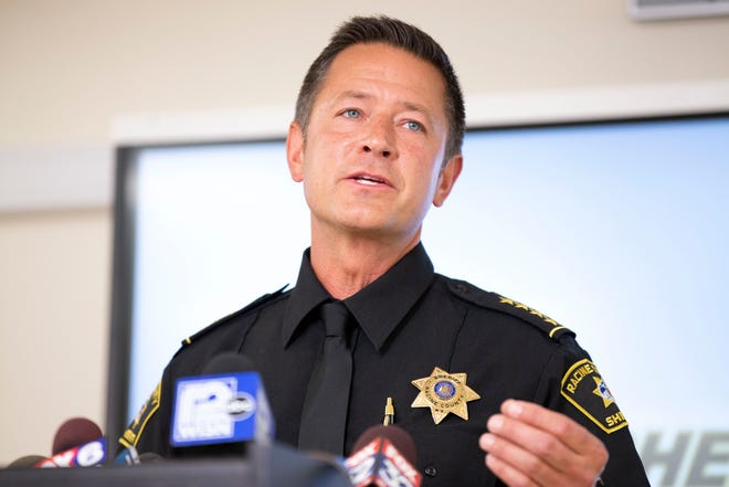 Racine County Sheriff Christopher Schmaling