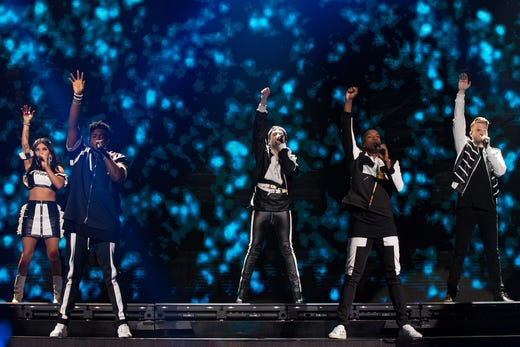 From 'Shallow' to 'Old Town Road,' Pentatonix sings with gusto in