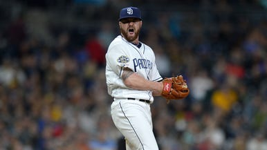 198e629f681 Padres 4, Brewers 1: Rookie pitcher stymies offense