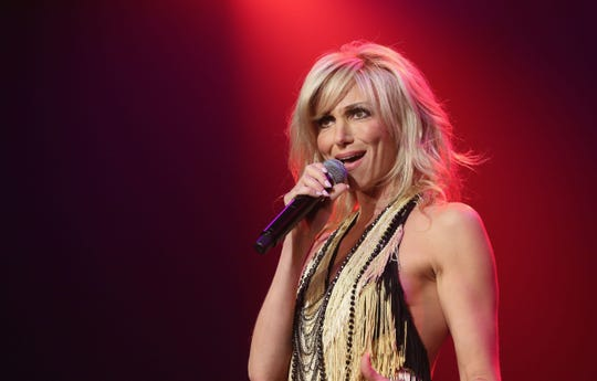 Singer Debbie Gibson performs  at The Joint inside the Hard Rock Hotel & Casino  in 2015 in Las Vegas. She will join other 1980s and '90s stars on the New Kids On The Block tour when they perform July 13, 2019, at Amway Center in Orlando.