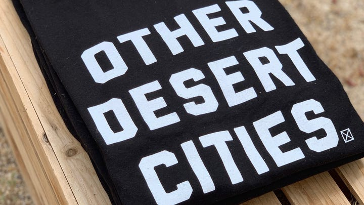 'Other Desert Cities' artist opens up about inside joke that doesn't include Palm Springs