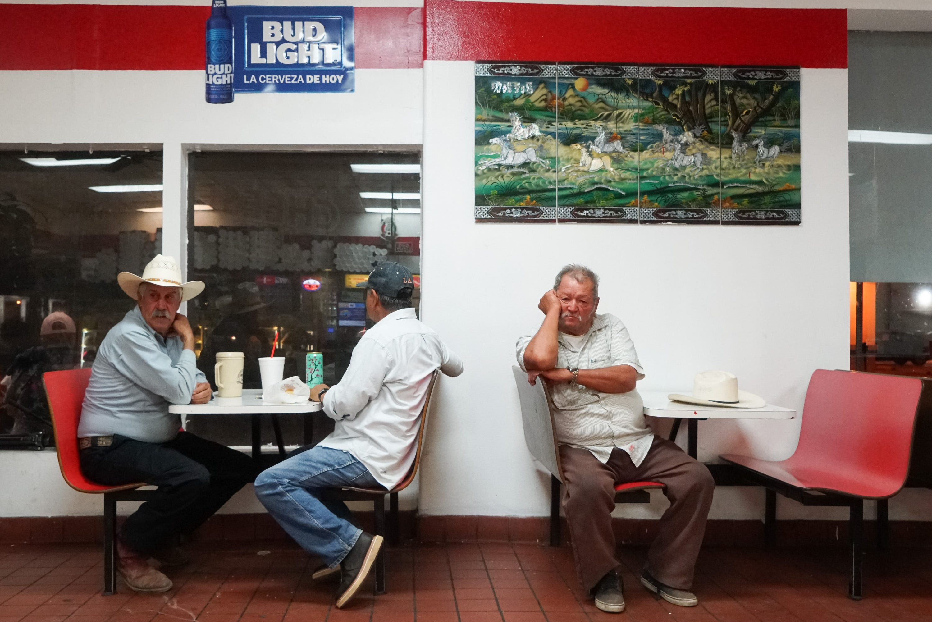 12 hours in a Calexico doughnut shop: After crossing the border, workers gather here before sunrise