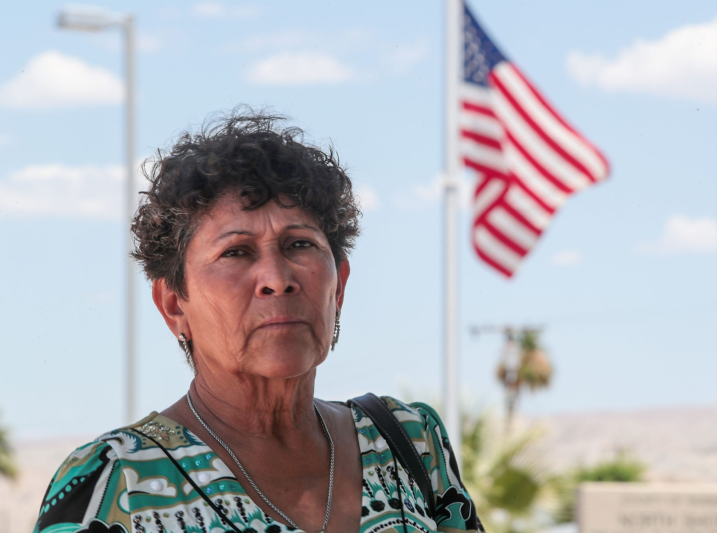 Eufracia Peñalosa Gonzalez, 62, is a community activist in North Shore who has  frequently advocated on behalf of the rural communities that line the Salton Sea shoreline. Her friends know her better as Doña Chela.