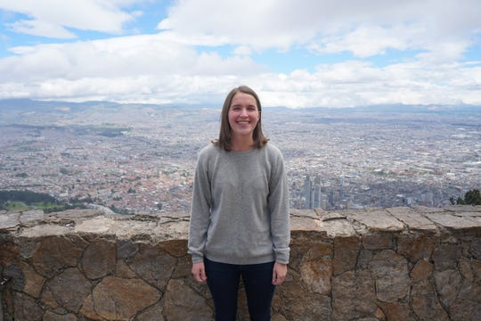 Pensacola resident Taylor Demonbreun poses for a photo in Colombia. The 24-year-old broke a Guinness World Record as the youngest person to visit all 196 sovereign countries when she did so between 2017 and 2018.