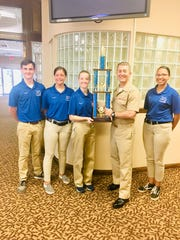 Pace High School's 2018-2019 Navy Junior Reserve Officers Training Corpshas received the national Most Outstanding Unit Award.