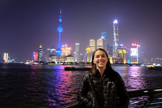 Pensacola resident Taylor Demonbreun poses for a photo in China. The 24-year-old broke a Guinness World Record as the youngest person to visit all 196 sovereign countries when she did so between 2017 and 2018..