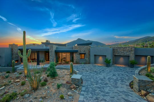 John and Dawn Meyer paid $3.4 million in cash for this 6,000-square-foot, contemporary-style mansion in Scottsdale's Desert Mountain community.