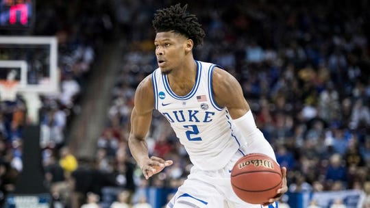 Cam Reddish shared the floor with two of the top three draft prospects in Zion Williamson and RJ Barrett.