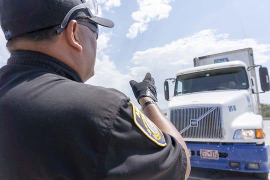 Tan solo en el 2018, por la frontera Sonora-Arizona transitaron por allí 800,000 camiones de carga