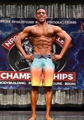 Steve Wilson Jr. won his bracket in the National Physique Committee Lehigh Valley Championships on May 25.