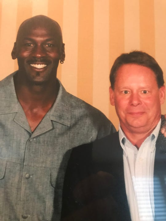 Susquehannock grad Duke Edsall officiated Michael Jordan's game at North Carolina and then worked his basketball camp for a decade. The two are now longtime friends.