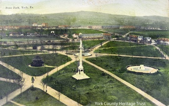 Penn Park has been the center of numerous gatherings in it 200-plus year history.
