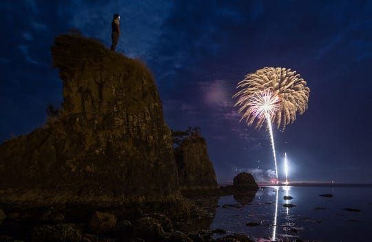 Head to Lincoln City for a fireworks display on the Fourth of July.