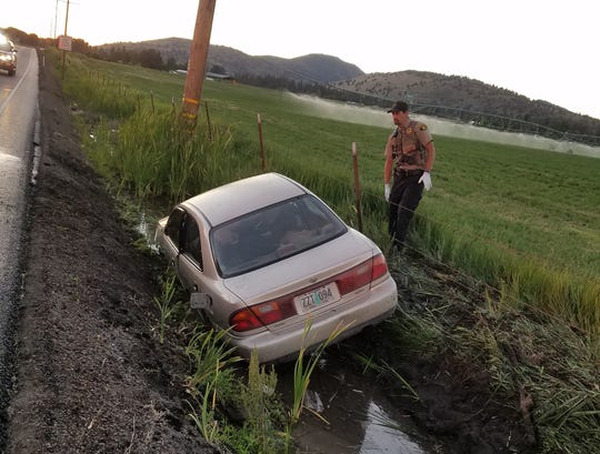 A driver struck and killed a flagger in Klamath County according to Oregon State Police.
