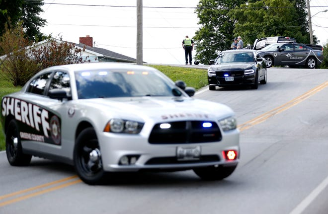 Greene County law enforcement are investigating a reported drive-by shooting Saturday evening.