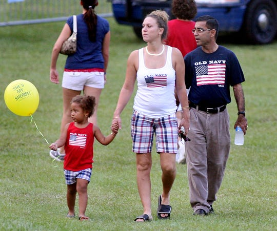 2011: Visitors to Tom Brown Park enjoy music, food, family, friends and freedom during the annual July 4th celebration.