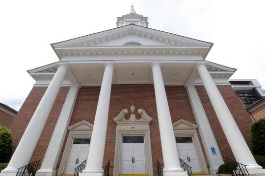 First Baptist Church Building Exterior Tuesday, June 18, 2019