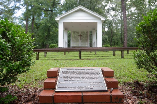 Pisgah United Methodist Church, built in 1859, is listed on the National Register of Historic Places.
