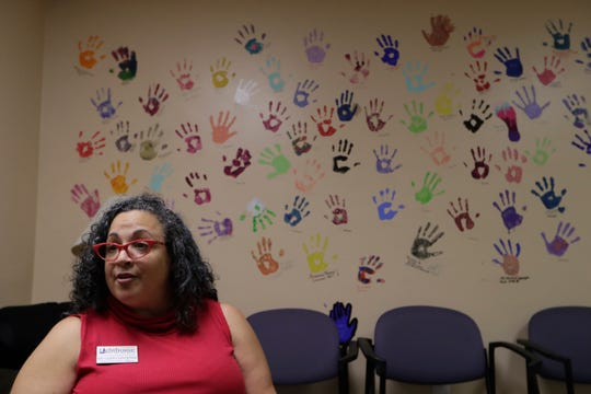 Kim Galban-Countryman, chief executive officer of Lighthouse of the Big Bend, talks about the collaboration between Lighthouse, Southern Scholarship Foundation, FSU Visual Disabilities Program, COT Parks and Recreation, and FAAST to create their transition summer camp for students who are visually impaired Tuesday, June 18, 2019.